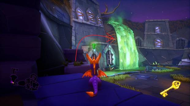 Spyro the dragon - Cabeza de metal: cofre cerrado