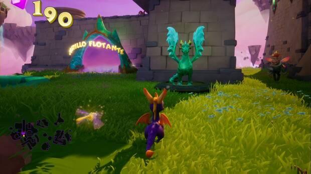 Spyro the dragon - Creadores de Sueños: estatua de Lateef