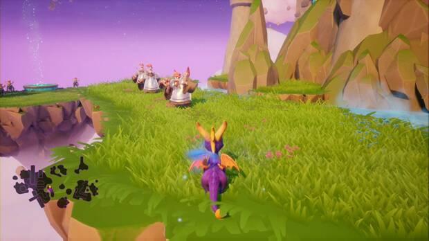 Spyro the dragon - Creadores de sueños: trofeo Misión imposible