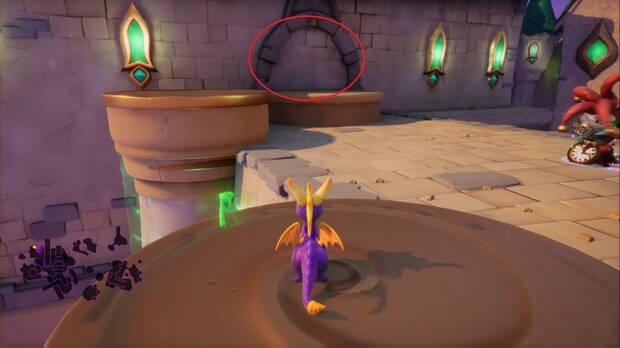 Spyro the dragon - Creadores de sueños: Sala secreta