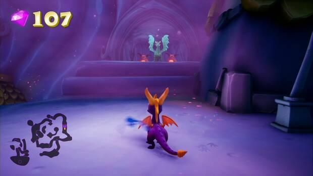Spyro the dragon - Pasaje oscuro: estatua de Azizi