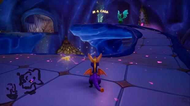 Spyro the dragon - Pasaje oscuro: estatua de Bakari