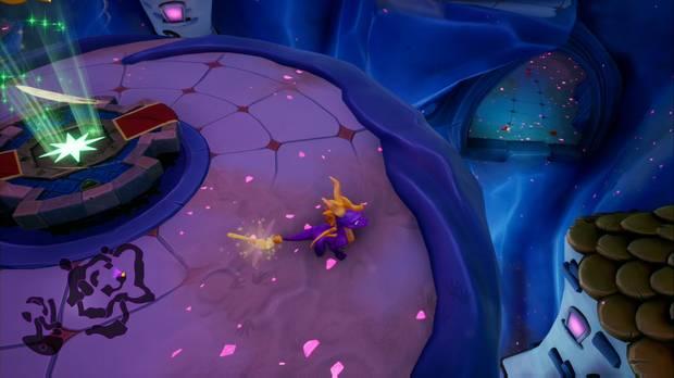 Spyro the dragon - Pasaje oscuro: acceso secreto