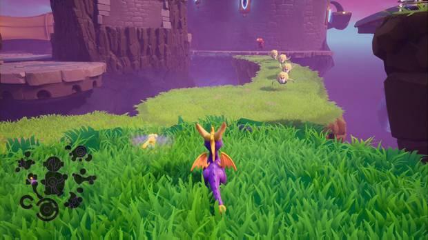 Spyro the dragon - Castillo flotante: trofeo Henchido