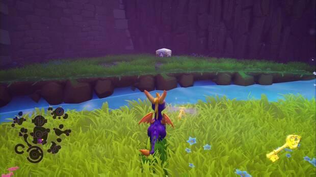 Spyro the dragon - Castillo flotante: cofre cerrado