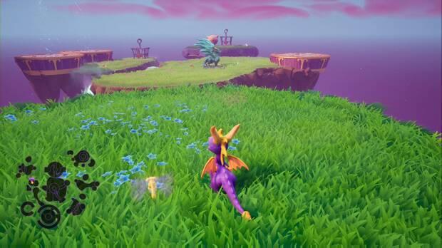 Spyro the dragon - Castillo flotante: estatua de Baruti