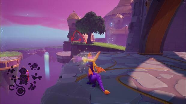 Spyro the dragon - Castillo flotante: Punto de habilidad
