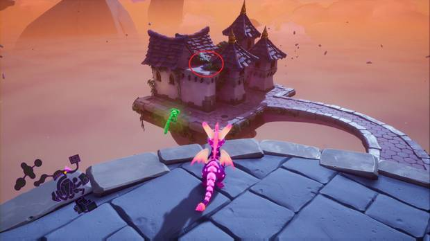 Spyro the dragon - Torre encantada: Punto de habilidad