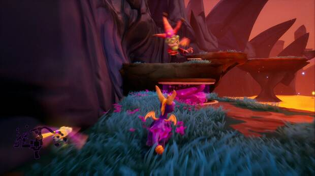 Spyro the dragon - Jacques: jefe Jacques