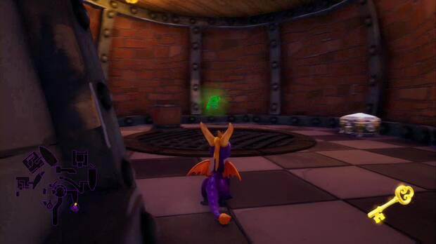 Spyro the dragon - Bahía de gnorc: cofre cerrado