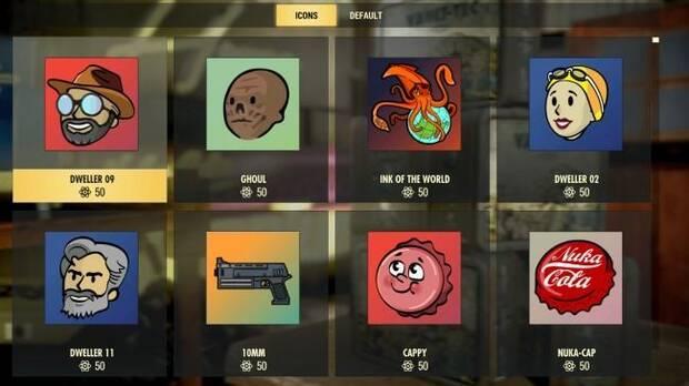 Estos son los artículos que podremos comprar con los Átomos de Fallout 76 Imagen 10