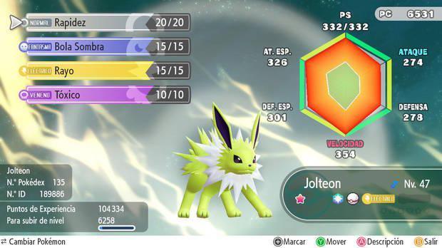 Los IV - Pokémon Let's Go