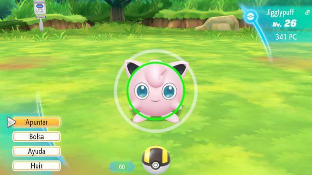 Rachas en Pokémon Let's Go