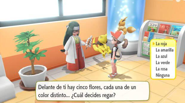 La adivina en Pokémon Let's Go