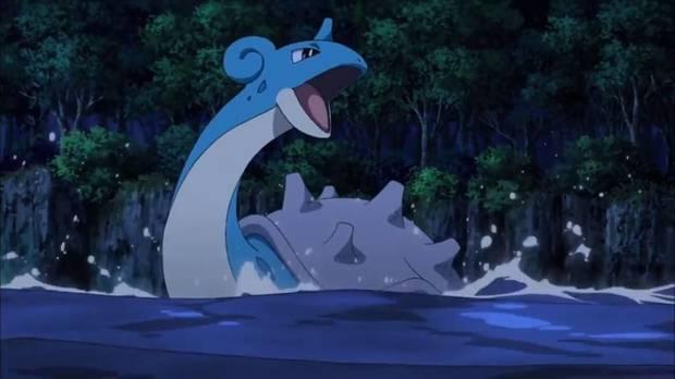 Lapras en Pokémon Let's Go