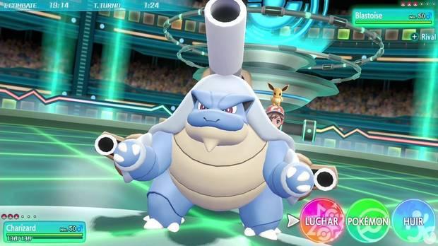 Megaevoluciones Pokémon Let's Go