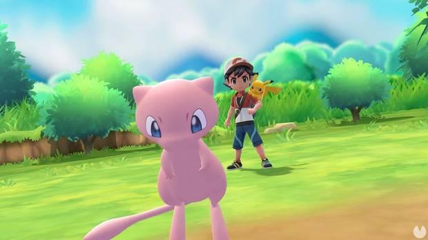 Conseguir a Mew en Pokémon Let's Go