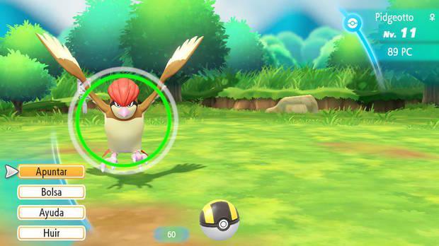 Hazte con todos - Pokémon Let's Go