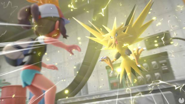 Captura a todos los Pokémon legendarios - Pokémon Let's Go