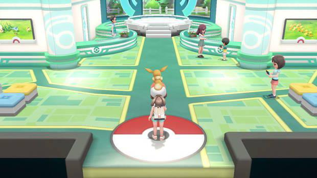 Conexión con Pokémon GO - Pokémon Let's Go