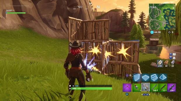 Fortnite Battle Royale - Destruye estructuras con explosivos