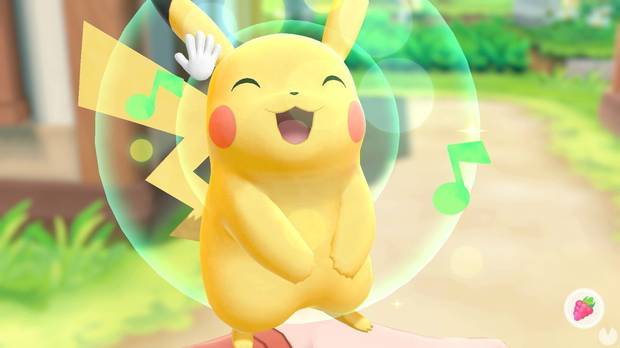 Capturar a Pikachu en Pokémon Lets Go