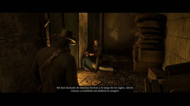 red dead redemption 2 - vampiro de saint denis 11