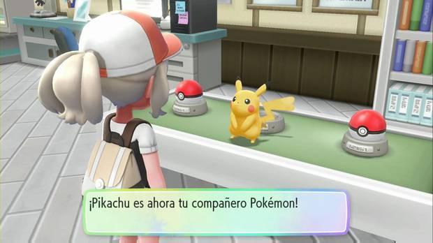 Pokémon Let's Go - Pueblo Paleta: Pikachu se escapa