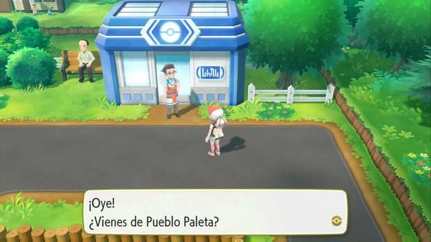 Pokémon Let's Go - Ciudad Verde: acepta el encargo
