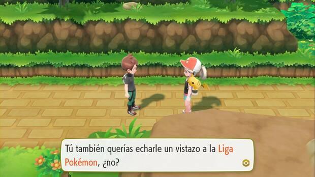 Pokémon let's go - Ciudad Verde: lucha con tu rival