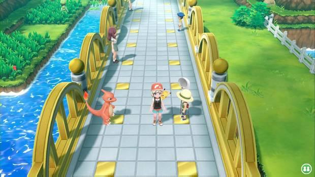 Pokémon Let's Go - Ruta 24: Puente Pepita