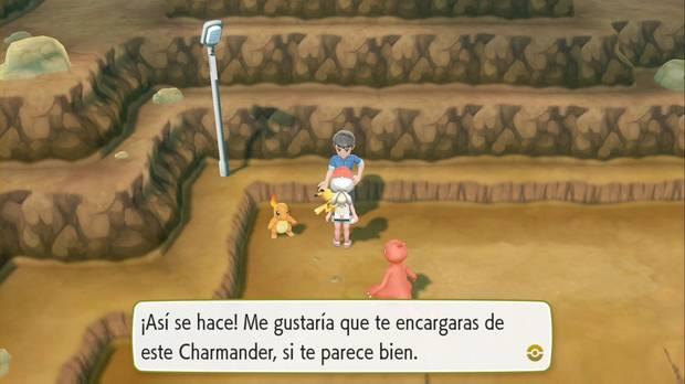 Pokémon Let's Go - Ruta 24: Charmander