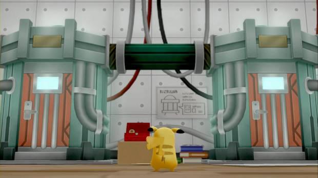 Pokémon Let's Go - Ruta 25: máquina de teletransporte