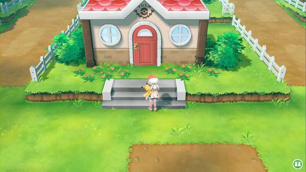 Pokémon Let's Go - Ruta 5: Guardería