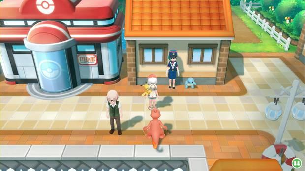 Pokémon Let's Go - Ciudad Carmín: Mara y Squirtle
