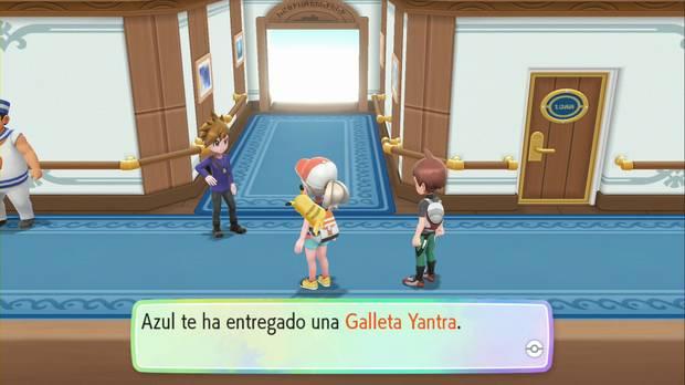 Pokémon Let's Go - SS Anne: tu rival y Azul