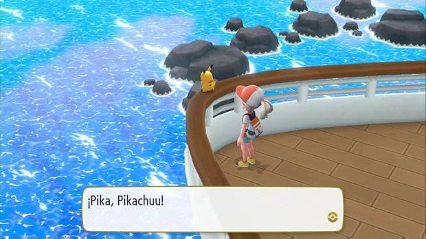 Pokémon Let's Go - SS Anne: proa