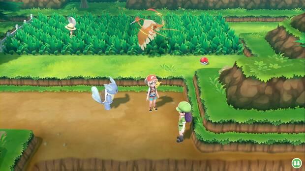 Pokémon Let's Go - Ruta 9: inicio