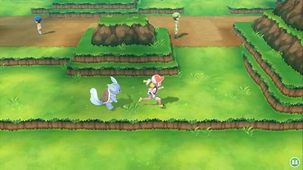 Pokémon Let's Go - Ruta 9: camino al nordeste