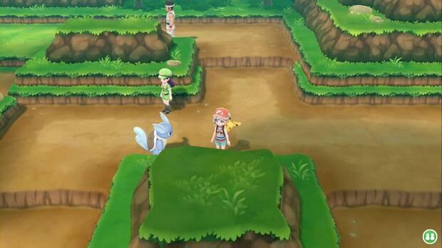 Pokémon Let's Go - Ruta 9: desvío al sur