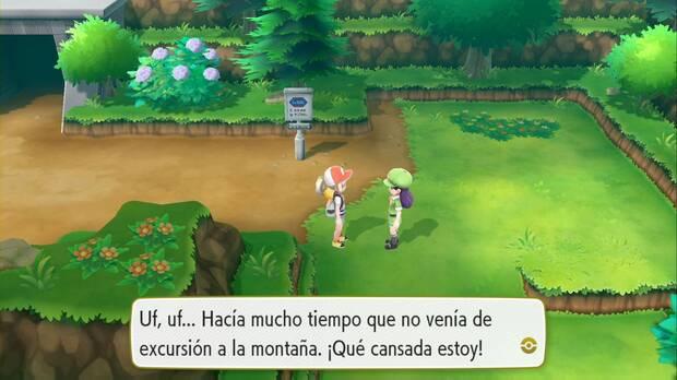 Pokémon Let's Go - Ruta 10: Dominguera Cárol