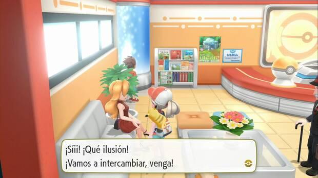 Pokémon Let's Go - Pueblo Lavanda: intercambio de Alola