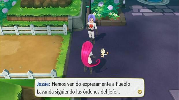 Pokémon Let's Go - Pueblo Lavanda: el Team Rocket