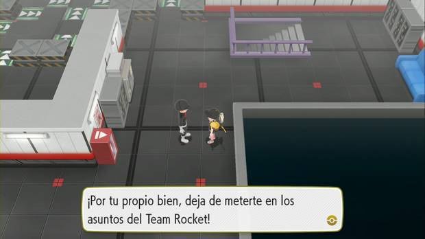 Pokémon Let's Go - Guarida del Team Rocket: otro recluta