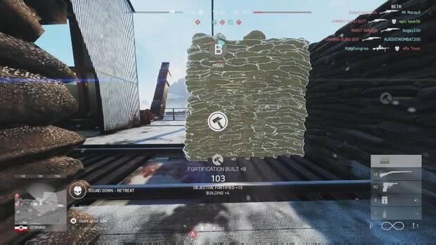 Construir fortificaciones en Battlefield 5