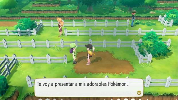 Pokémon Let's Go - Ruta 13: entrenadores