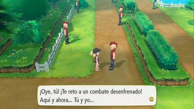 Pokémon let's go - Ruta 14: Chicos Malos
