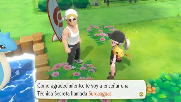 Pokémon Let's Go - Ciudad Fucsia: Surcaaguas
