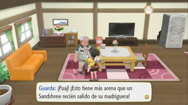 Pokémon Let's Go - Ciudad Fucsia: Empuje
