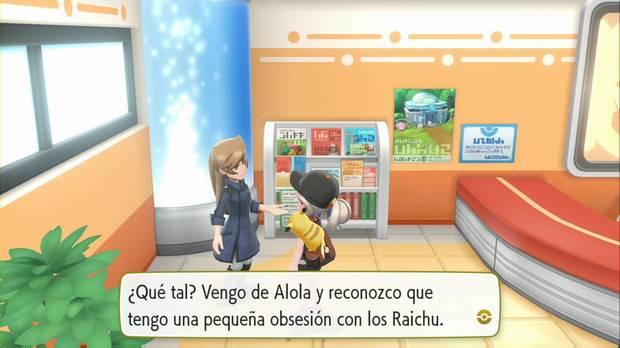 Pokémon Let's Go - Ciudad Azafrán: Raichu de Alola